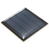 2V 0.14W Epoxy Battery Plate Polycrystalline Silicon Cell Batteries DIY Solar Powered Panels Solar Panel Cell Model 40 x 40x3mm