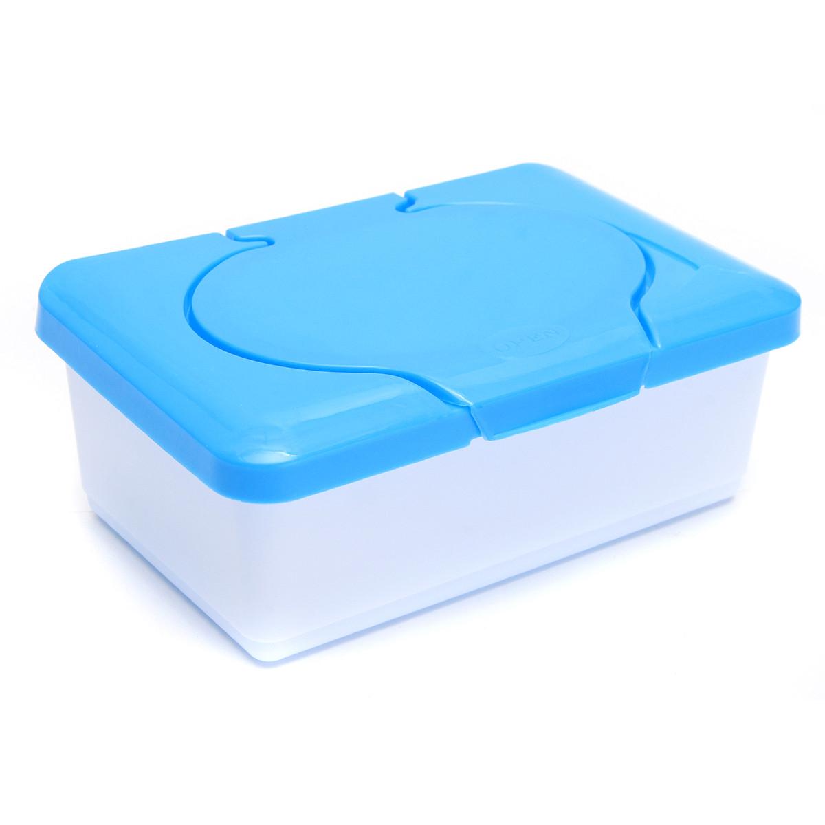 Wet Tissue Box Plastic Case Real Tissue Case Baby Wipes Press Pop-up Design Home Tissue Holder Accessories