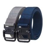 125cm AWMN S10 3.8cm Nylon Double Ring Buckle Men Women Heavy Duty Rigger Military Tactical Belt