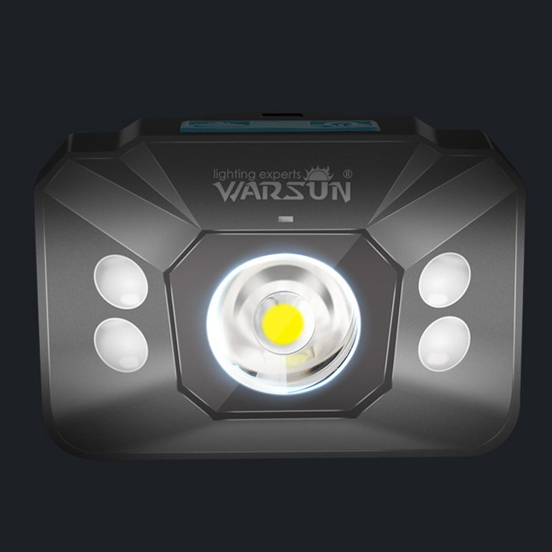 Warsun W07 Waterproof Motion Sensor LED Cycling Bike Headlamp Bike Bicycle Cycling Xiaomi Motorcycle