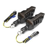 12V Motorcycle LED Sequential Flowing Water Running Lamp Turn Signal Lights