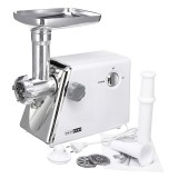 220V 2800W Electric Grinder Stainless Steel Duty Sausage Stuffer Food Processor Grinding Mincing Stirring Mixing Machine