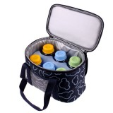 4.5L Outdoor Picnic Bag Waterproof Insulated Thermal Cooler Lunch Box Tote Lunch Food Container