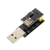 Geekcreit ESP8266 ESP01 WIFI Transceiver Wireless Module + USB To ESP8266 Serial Adapter Wireless WIFI Develoment Board