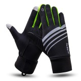 AONIJIE Winter Thermal Warm Full Finger Skiing Cycling Glove Skiing Xiaomi Motorcycle E-bike Bike Bicycle