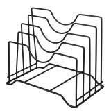 Kitchen Drain Basket Tool Storage Holder Cutting Chopping Board Rack Pot Lid Pan Cover
