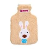 34x22cm Portable Hot Water Bottle Bag Creative Cute Cartoon Rabbit Hand Warmer