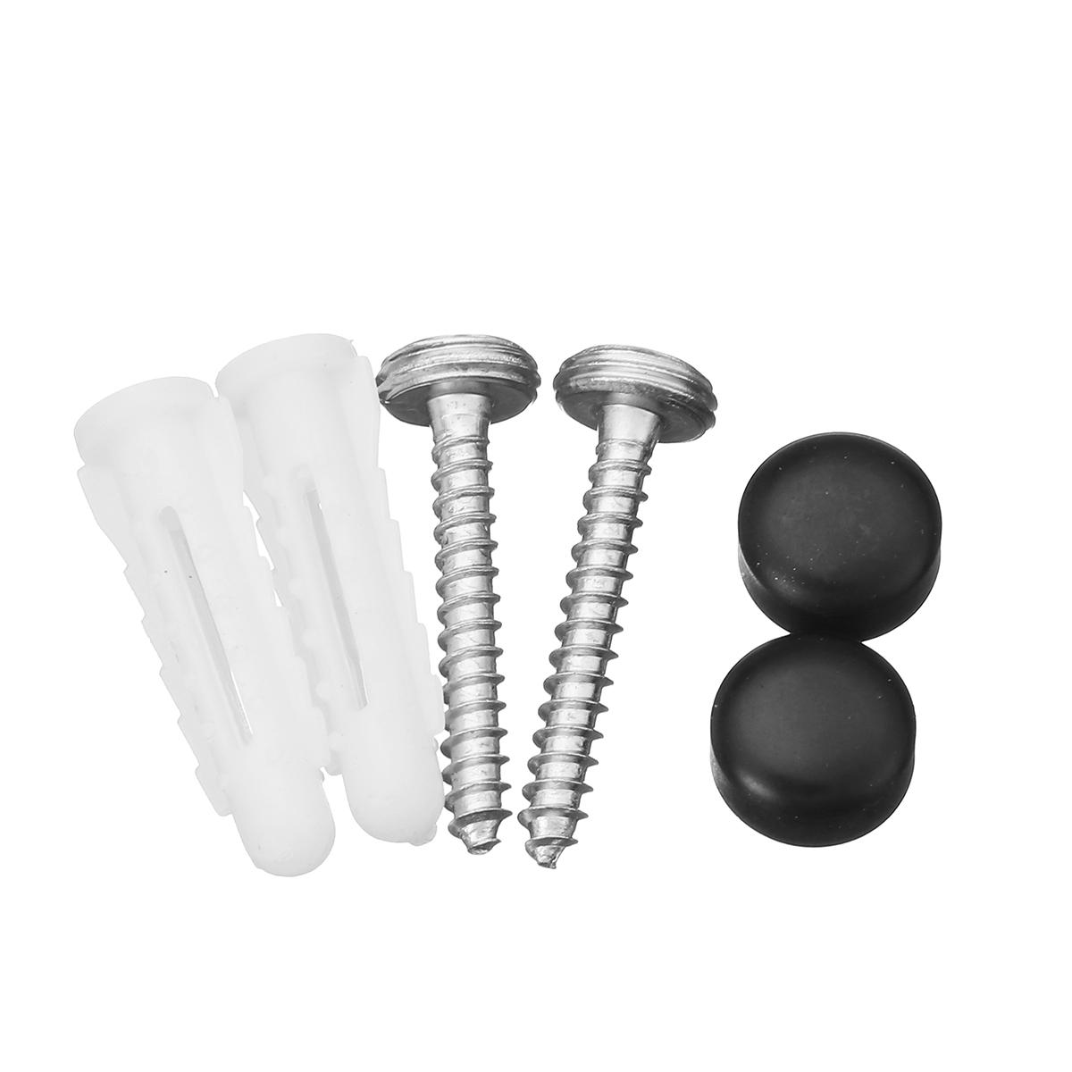 Stainless Steel Shower Caddy Storage Kitchen Rack Holder Wall Mount Rectangle Bathroom Drain Shelf