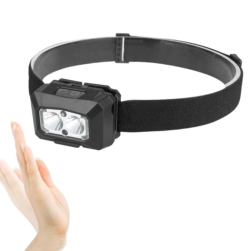 XANES® 1200LM HeadLamp Lithium Ion Battery 6 Modes USB Charge Waterproof Outdoor Camping Hiking Cycling Fishing Light