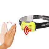 XANES XPE+COB LED Headlamp USB Interface Waterproof Camping Hiking Cycling Fishing Light Bike Bicycle