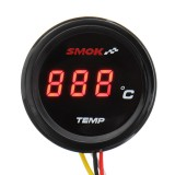 Universal Motorcycle LCD Digital Instruments Thermometer Water Temp Temperature