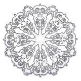 Snow Flower Scrapbook Photo Album Paper Work Card DIY Cutting Dies