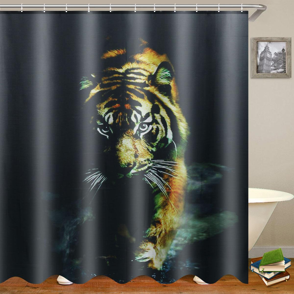 72 X72 Wildlife Animal Nature Decor, Wildlife Bathroom Decor
