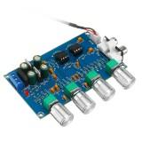 NE5532 C2-001 AC 12-24V Power 4 Channel Adjustment Amplifier Tuning Board Preamplifier