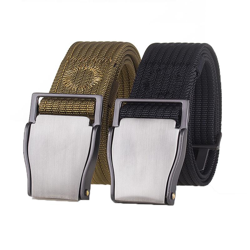 125cm AWMN PH15 3.8cm Nylon Adjustable Heavy Duty Waist Strap Quick Release Buckle Military Tactical Belt