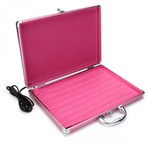 Protable Electric Hot Rock Heating Box Warmer Carrying Case for SPA Massage Stone Heating
