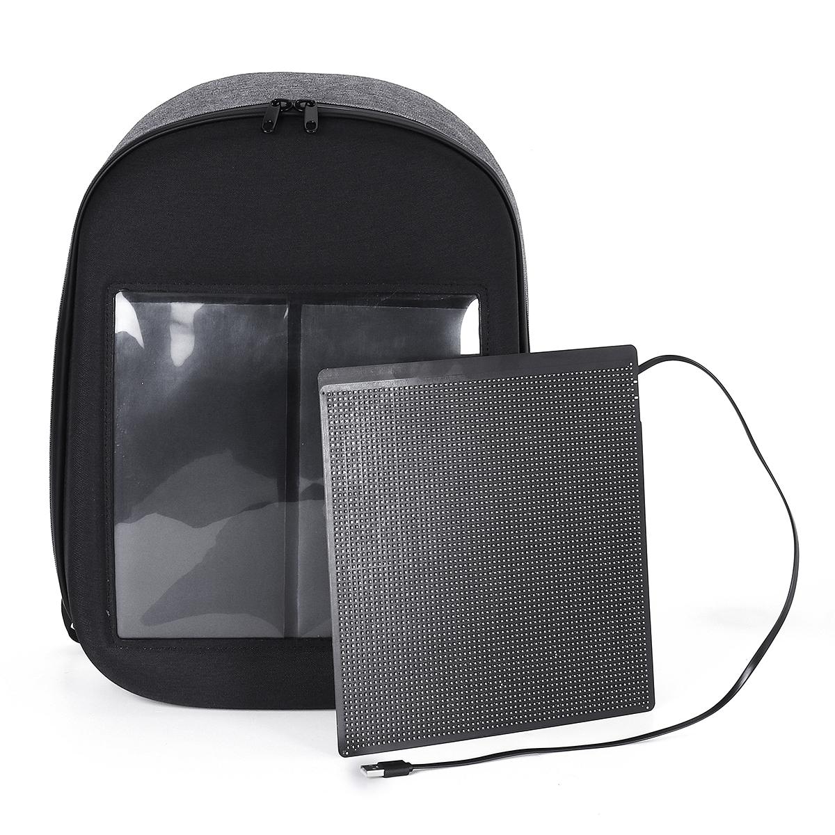 DC 5V LED Dynamic Display WiFi Backpack Laptop Notebook ...