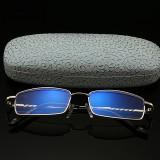 HD Anti Blue Ray Reading Glasses Ultralight Full Frame Computer Presbyopic Eyeglasses