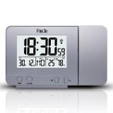 FanJu FJ3531 Projection Alarm Clock USB Charger Snooze Double Alarm Backlight Desk Clock