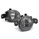 Car Front Bumper Fog Lights Amber with H11 Bulbs Pair for Nissan Altima Maxima Rogue Sentra