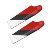 1 Pair Tarot Carbon Fiber Tail Blade For Tarot ALZRC GAUI SAB 600/700 RC Helicopter