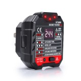 HT106B Socket Outlet Tester Circuit Polarity Voltage Detector+Winpeak ET8900 Voltage Tester Pen