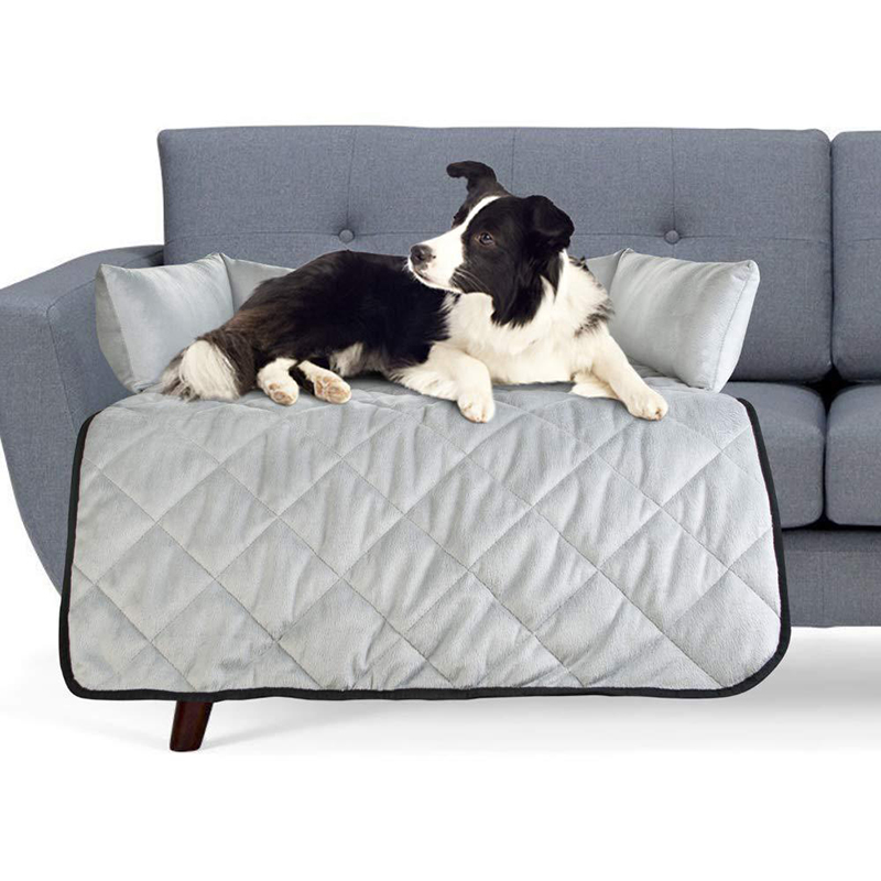 Water Resistant Pet Furniture Protector Dog Cat Sofa Mat Soft Cover Bed
