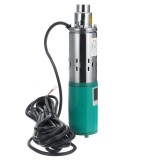220W 12V Deep Well Pump Submersible Water Pump Solar Energy 1.2M/H 30M Max Lift