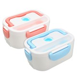110V Portable Electric Lunch Box Steamer Rice Cooker Container Heat Preservation