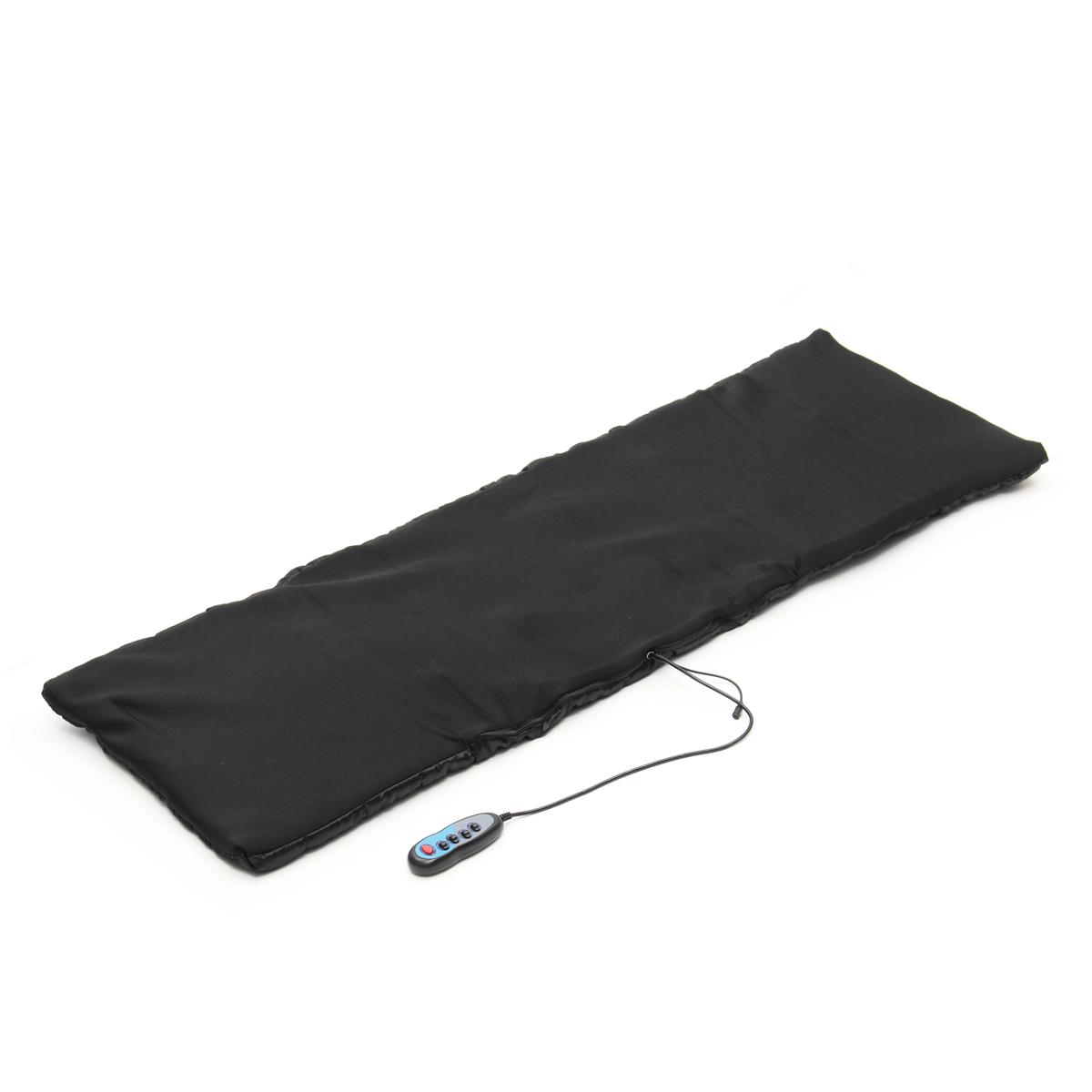 Body Massage Mattress Heated Massager With Remote Control Cushion Foldable Full Body Cushion Sofa Bed Spa Massager Machine