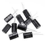 10Pcs 50v 1000uf 1000mf Electrolytic Capacitor 1000UF 50V 13x25mm