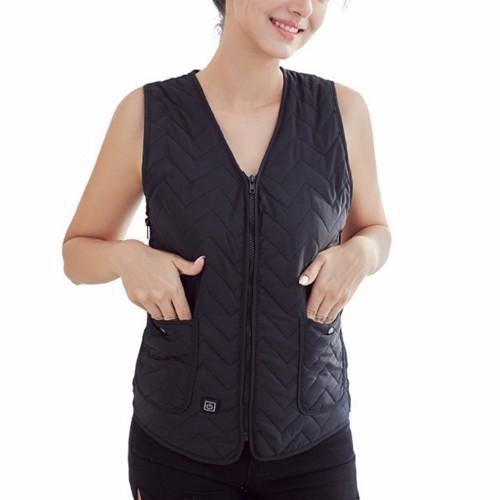 Unisex USB Electric Heated Heating Vest Cloth Intelligent Winter Warm Up Warmer