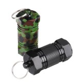 Mini Holder Box Outdoor Waterproof Box Sealed Pocket Container Keychain Case Bottle Stash Holder