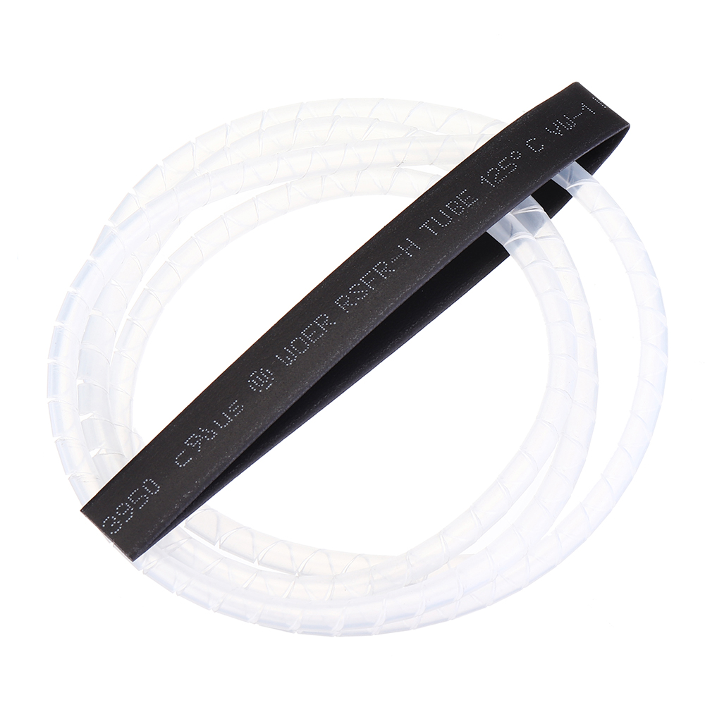 1M RJXHOBBY Spiral Wire Wrap Tube Manage Cord for Outside Diameter 6-60MM Cable