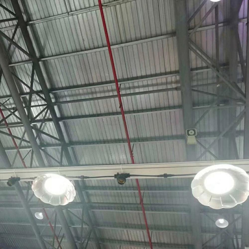 AC220V E27 50W Pure White LED Iodine Tungsten Mine Light Bulb Factory Home Garden