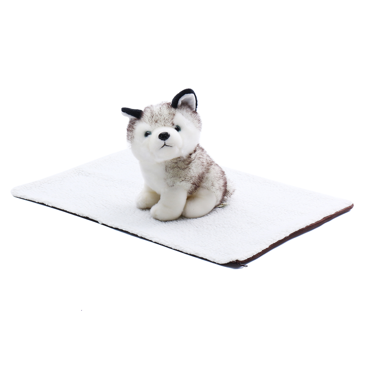 Pet Self Heating Thermal Dog Cat Bed Kitty Cushion Heated Mat Warm Washable