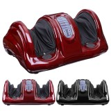 110V Electric Heating Foot Body Leg Massager Shiatsu Kneading Roller Vibrator Machine Reflexology