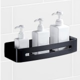 Stainless Steel Shower Caddy Storage Kitchen Rack Holder Wall Mount Rectangle Bathroom Drain Shelf
