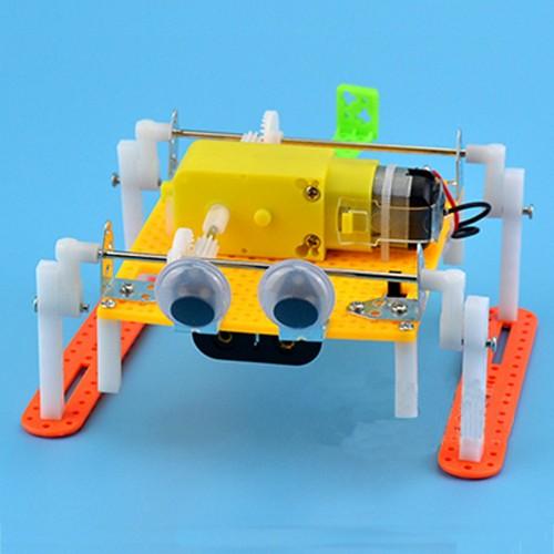 DIY Walking RC Robot Toy STEAM Educational Kit Gift For Kid Children