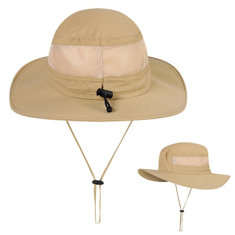a359ded8 Men Women Sun UV Protection Quick-drying Waterproof Visor Fishing Hat  Travel Sport Mountaineering Fisherman