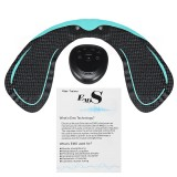 6 Modes EMS Hip Trainer fr hfter med U-form Hydro Gel Pad Butt Lifting Fitness Body Shape
