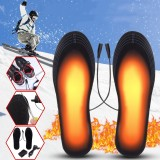 5V 2A Electric Heated Feet Shoe Insole USB Foot Heater Warmer Breathable Deodorant With Adapter