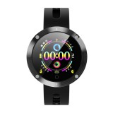 DM58 Plus 1.22 inch IPS Color Screen Smartwatch IP68 Waterproof, Support Call Reminder /Heart Rate Monitoring /Blood Pressure Monitoring /Sedentary Reminder /Sleep Monitoring (Black)
