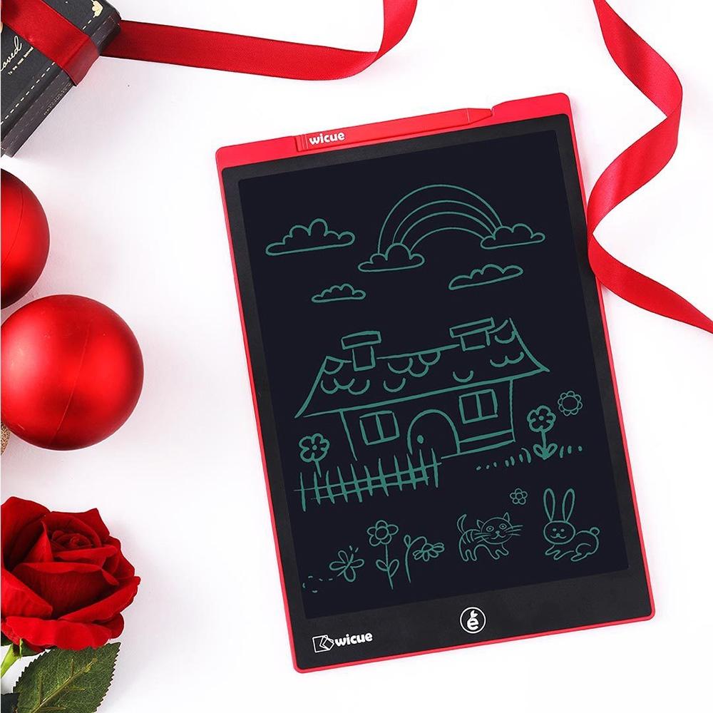 original xiaomi mijia wicue 12 inch smart digital lcd handwriting board red. Black Bedroom Furniture Sets. Home Design Ideas