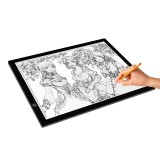 8W 5V LED USB Three Level of Brightness Dimmable A3 Acrylic Scale Copy Boards Anime Sketch Drawing Sketchpad with USB Cable