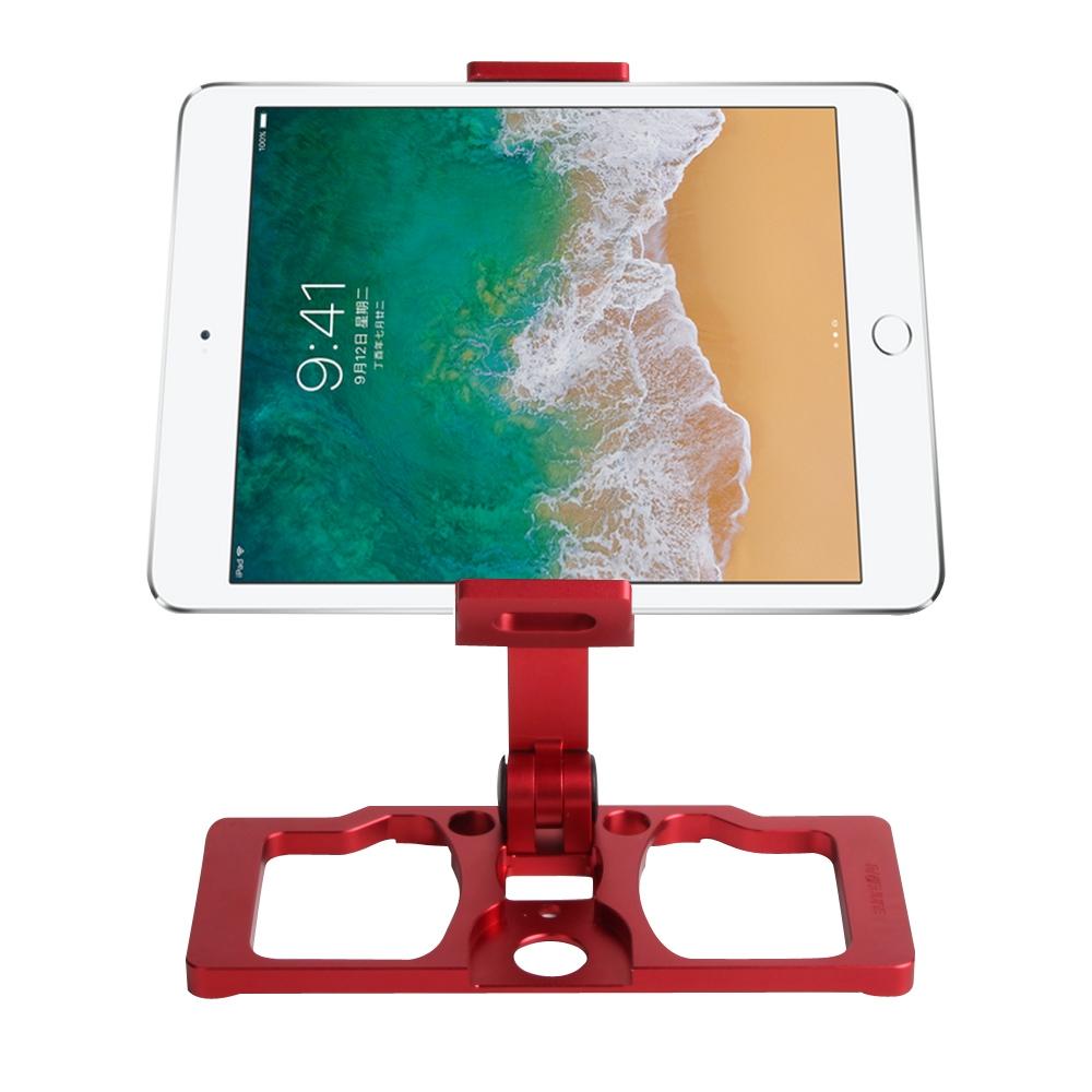 Sunnylife TY-ZJ035 Upgrade Full Aluminum Alloy Smartphone & Tablet Holder for DJI Mavic 2 / Mavic Pro / Mavic Air / Spark / Crystalsky Monitor (Red)