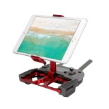 Sunnylife TY-ZJ035 Upgrade Full Aluminum Alloy Smartphone & Tablet Holder for DJI Mavic 2 / Mavic Pro / Mavic Air / Spark / Crystalsky Monitor (Red)