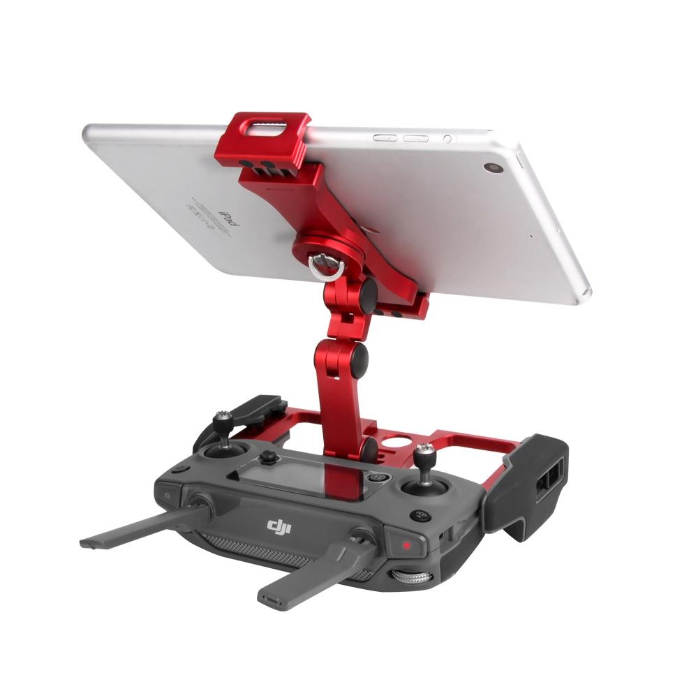 Sunnylife TY-ZJ034 Upgrade Full Aluminum Alloy Smartphone & Tablet Holder for DJI Mavic 2 / Mavic Pro / Mavic Air / Spark (Red)