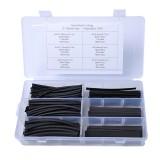130 PCS 2: 1 Wire Wrap Assortment Set Polyolefin Heat Shrinkable Shrink Tube