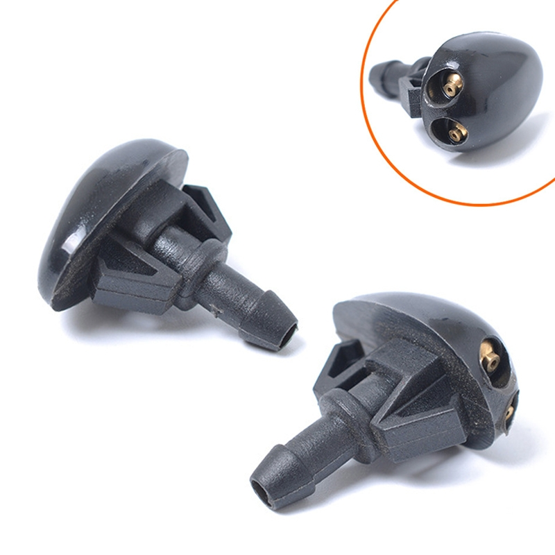 2 PCS Windshield Washer Wiper Jet Water Spray Nozzle 289313S500 / 289303S500 for Nissan Frontier (1998-2004) / Xterra (2000-2004)
